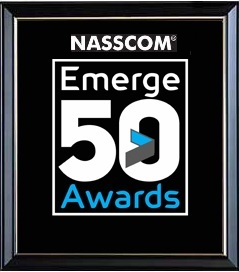 Nasscom Emerge 50 Awards logo